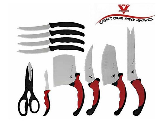 ست چاقو 10 تکه کانتر پرو به همراه استند مگنتی
