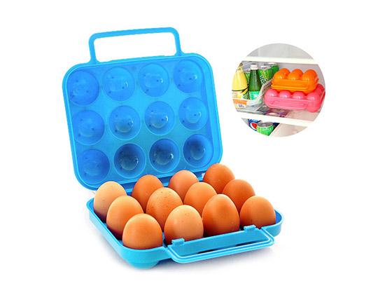 جا تخم مرغی درب دار 12 عددی