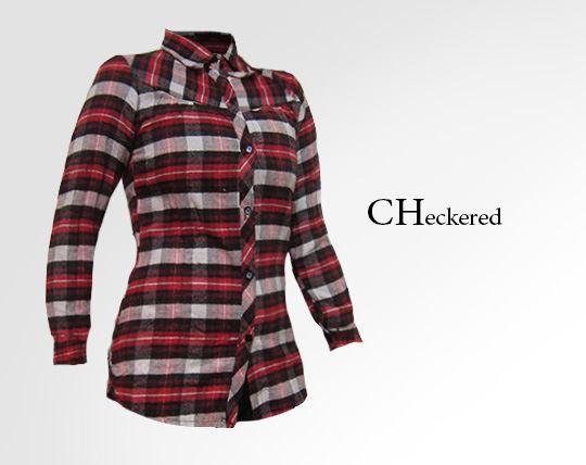 شومیز پاییزه  Checkered