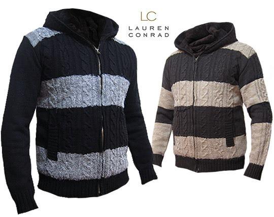 سویشرت پشمی تو کرکی برند LC