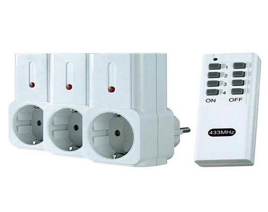 three-way-remote-control-socket