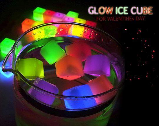 مکعب یخ نورانی GLOW ICE