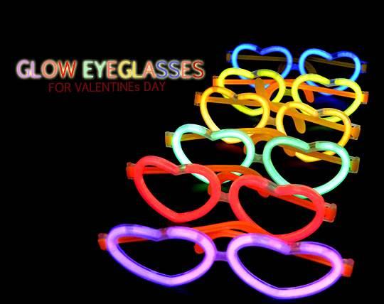 عینک قلبی نورانی