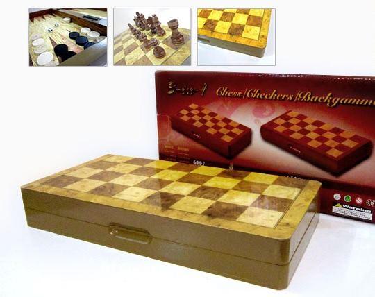 شطرنج و تخته CHESSSET