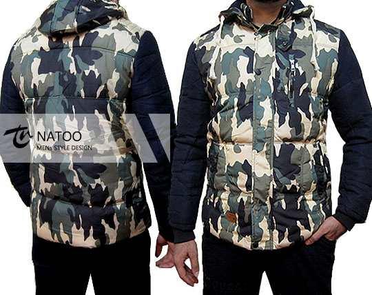 کاپشن 5 لایه چریکی NATOO