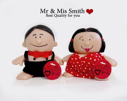 ست عروسک آقا و خانم اسمیت
