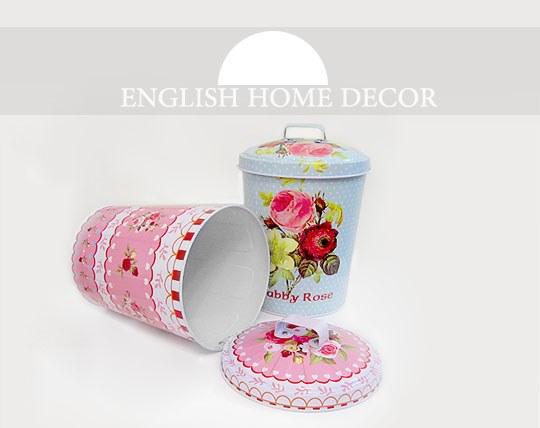 سطل فلزی ENGLISH HOME