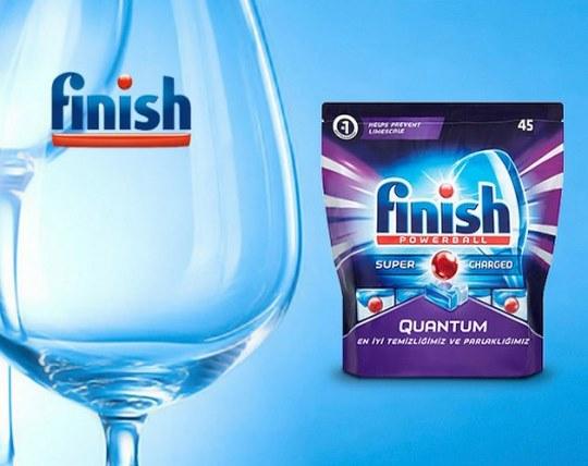 قرص ماشین ظرفشویی 18 تکه Finish