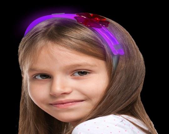 تل نورانی Glow Flower Headband