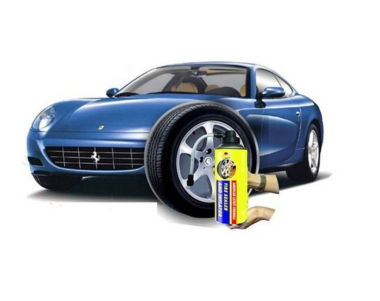 car-tire-spade-pencil