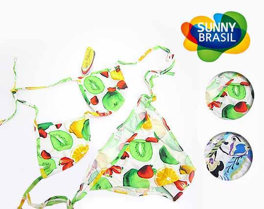 مایو دو تکه برند sunny brazil