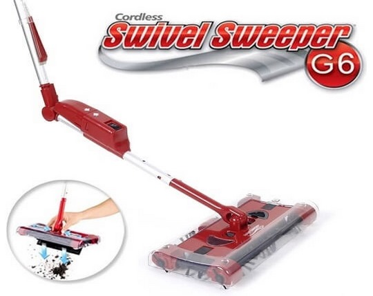 جارو شارژی G6 Swivel Sweeper