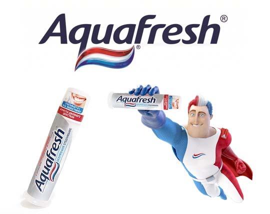 خمیر دندان پمپی Aquafresh انگلستان