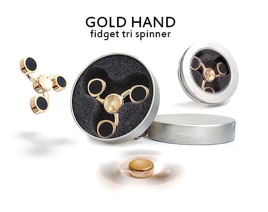 فینگر اسپینر مدل Fidget Tri Spinner