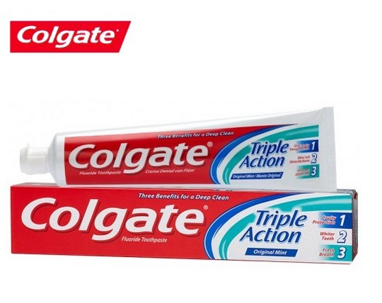 خمیر دندان Colgate Triple Action