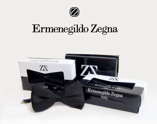 پاپیون ساده برند Ermenegildo Zegna