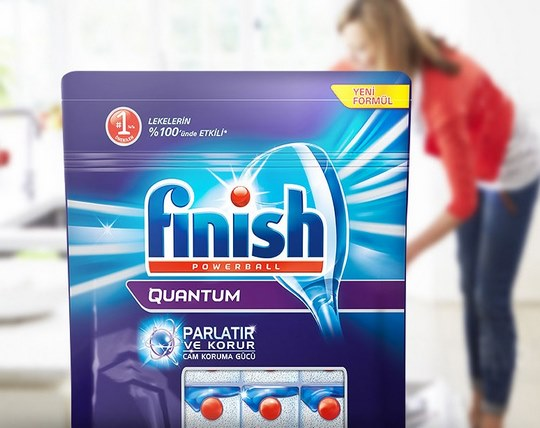 قرص ماشین ظرفشویی 40 عددی Finish
