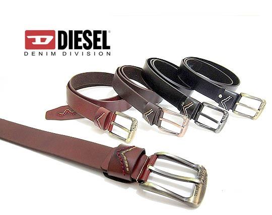 کمربند مردانه چرم Diesel