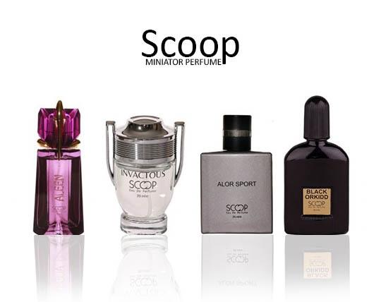 سری جدید عطرهای مینیاتوری SCOOP