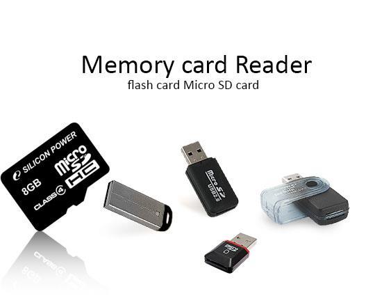 مجموعه رم ریدر میکرو Microusb Ram Reader
