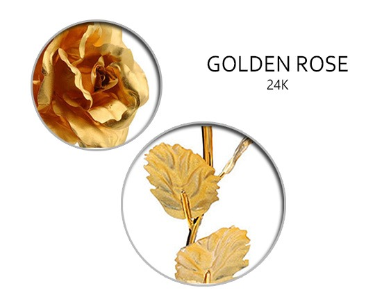 rose-branch-with-gold-plated