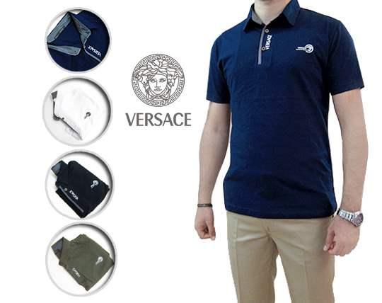 پولوشرت آستین کوتاه مردانه Versace
