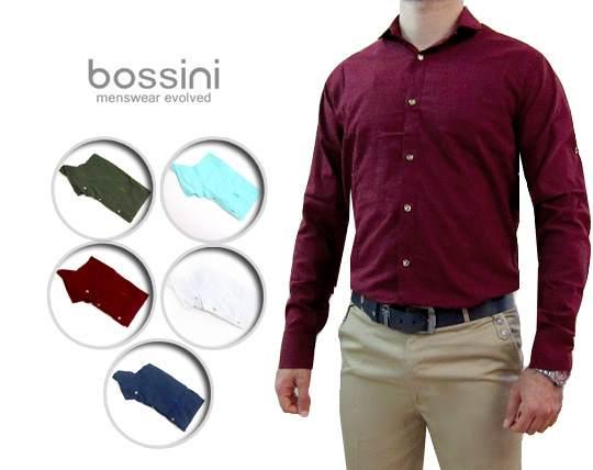 پیراهن مردانه ساده Bossini