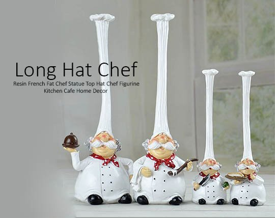 chef-long-hairstyle-decorative-set