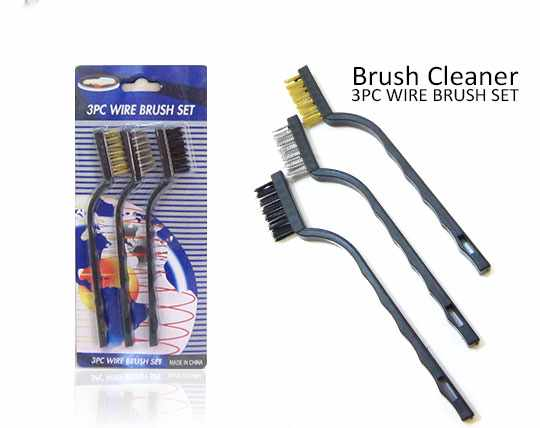 پکیج 3 عددی برس سیمی Brush Cleaner