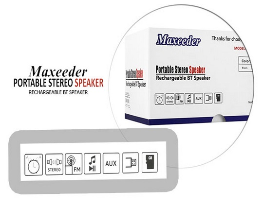 maxeeder-clock-speaker