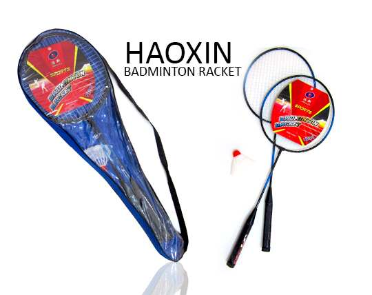 rocket-haoxin-badminton-cover-and-ball
