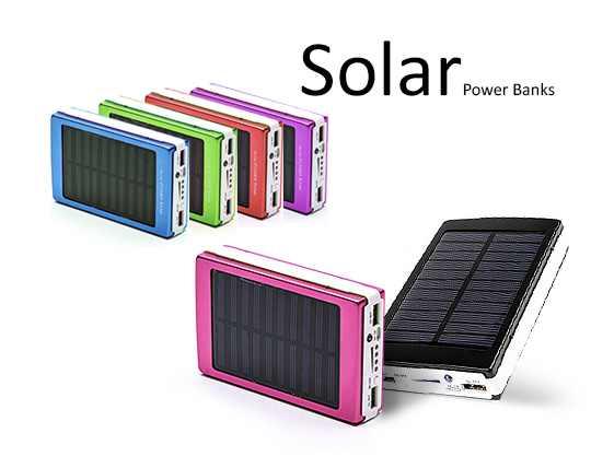 پاوربانک خورشیدی 20000 میلی آمپر