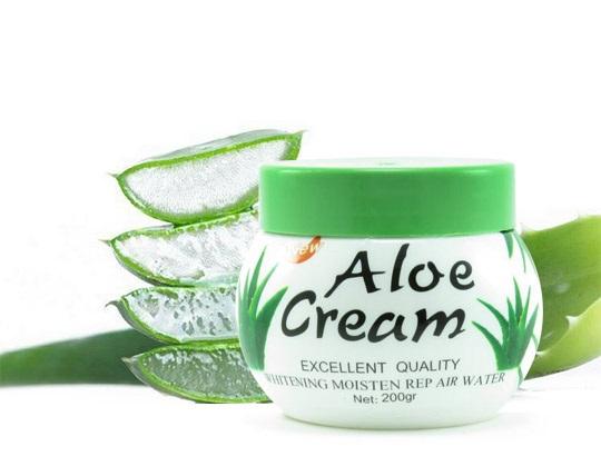 کرم مرطوب کننده دست و صورت Aloe Cream