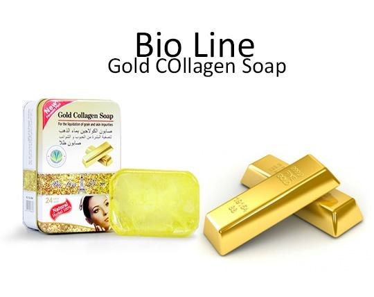 صابون کلاژن طلا BIO LINE