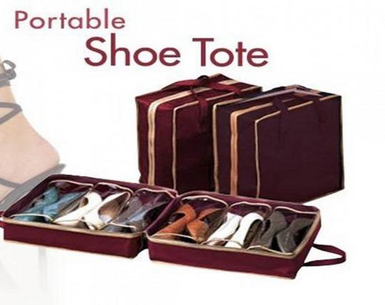 جا کفشی زیر تختی Shoe Tote