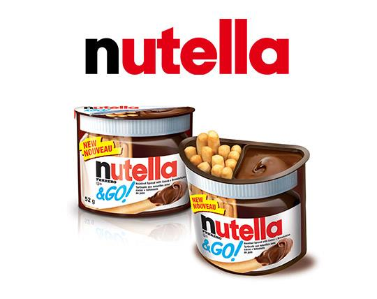 شکلات بیسکوییت NUTELLA AND GO