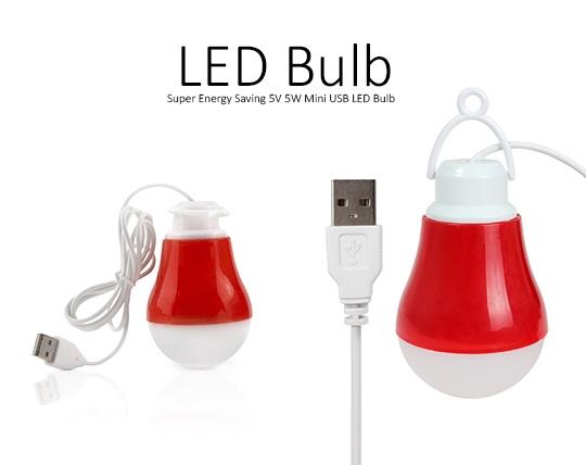 لامپ LED اضطراری USB