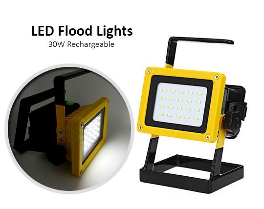نورافکن و پرژکتور قابل حمل شارژی Flood Lights
