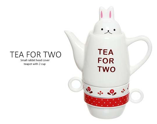 teapot-and-cup-of-two-rabbit-designs
