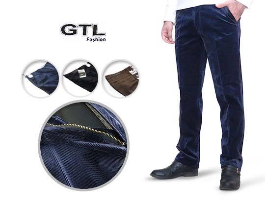 شلوار مخمل کبریتی مردانه GTL