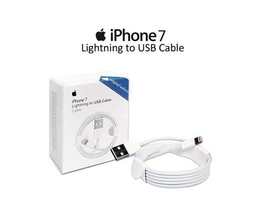 کابل شارژ و لایتینگ اورجینال آیفون IPhone 7