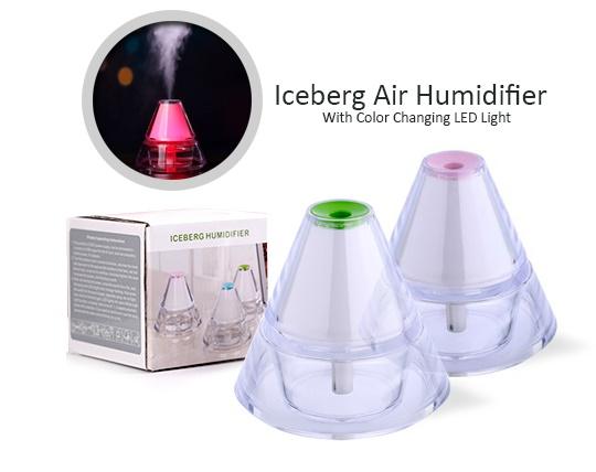 دستگاه بخور سرد طرح کوه یخی