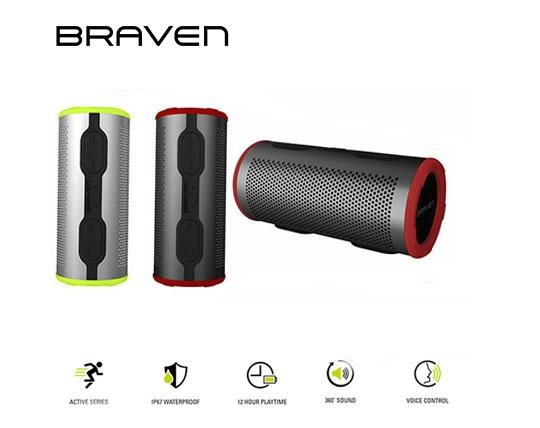 اسپیکر بلوتوث ضد آب Braven Stryoe 360