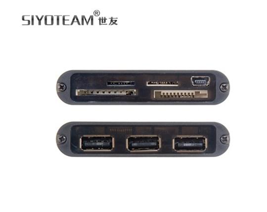 card-reader-and-hub-3-ports-siyoteam-combo