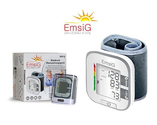 فشارسنج دیجیتال مچی امسیگ EMSIG BW35