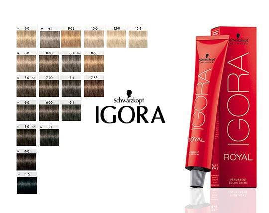 رنگ موی آلمانی ایگورا رویال IGORA ROYAL