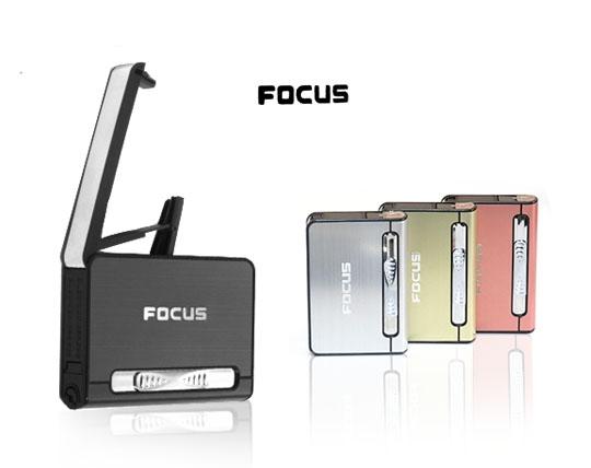 فندک و باکس نگهدارنده سیگار Focus