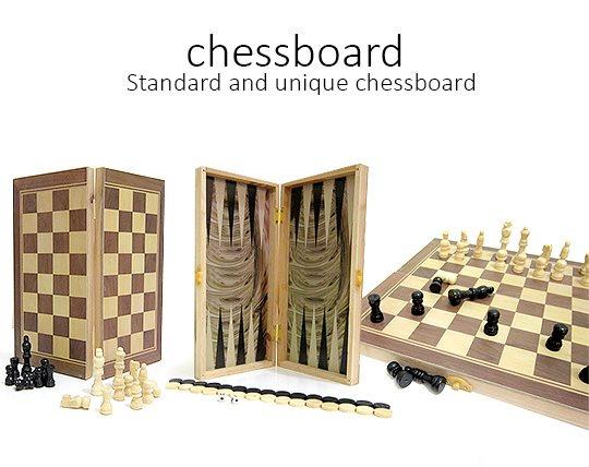 شطرنج و تخته نرد سایز بزرگ Chess Board