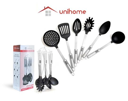 ست 7 پارچه کفگیر و ملاقه Uni Home