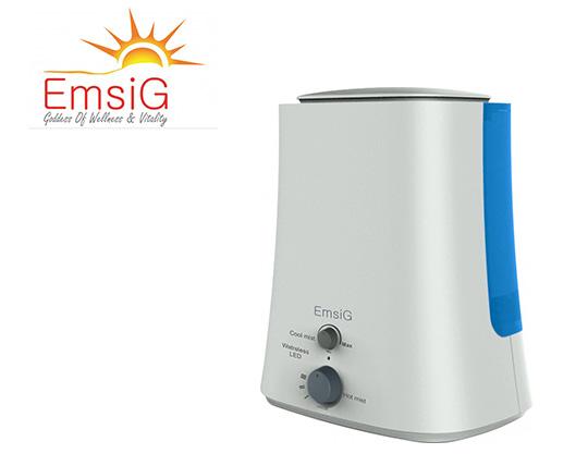 دستگاه بخور رطوبت ساز سرد و داغ امسیگ مدل Emsig US492